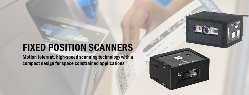 Offering high-speed, hands-free barcode scanning along with a compact footprint that fits in the most space-constrained application areas.